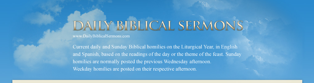 Homilies com - Catholic Homilies Resources for Sunday and